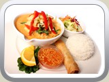 Lunch Special #15 Red Curry